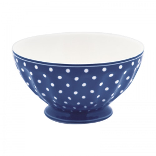 Greengate French Bowl Spot Blue