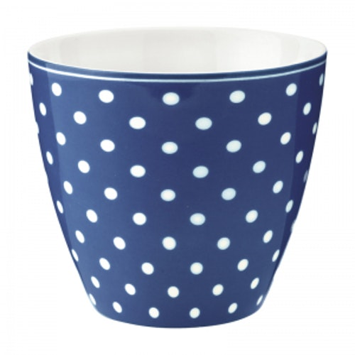Greengate Latte Cup Spot Blue