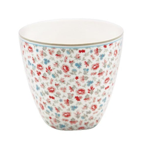 Greengate Latte Cup Tilly White