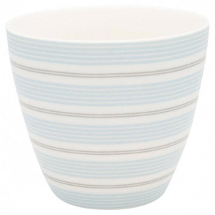 Greengate Latte Cup Tova Pale Blue