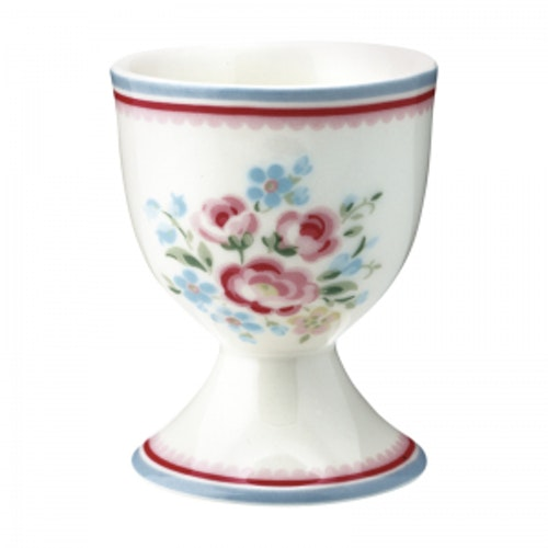 Greengate Egg Cup Nicoline White