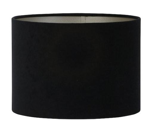 Lampskärm Velours svart 20cm