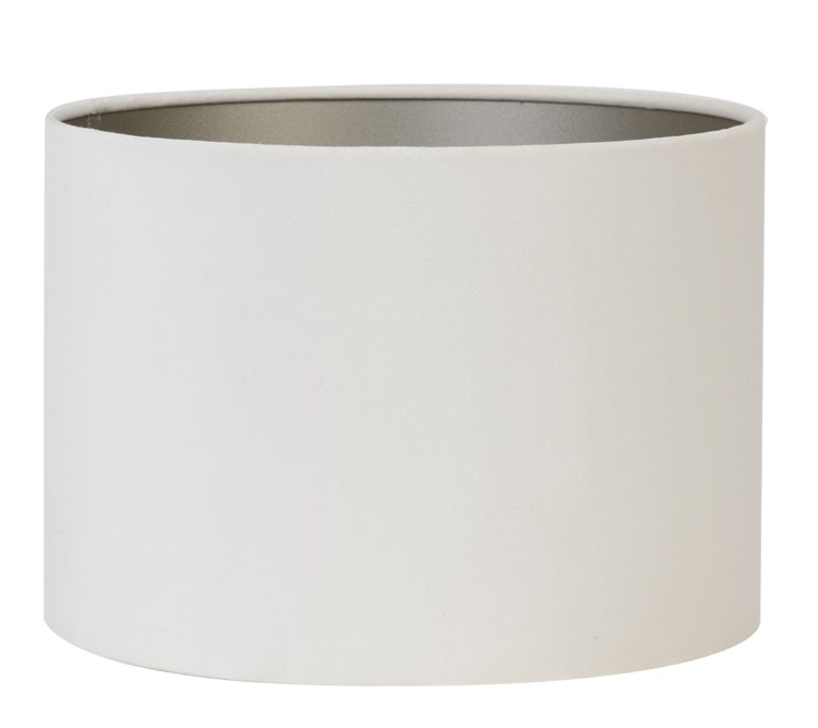 Lampskärm Velours off white 18cm