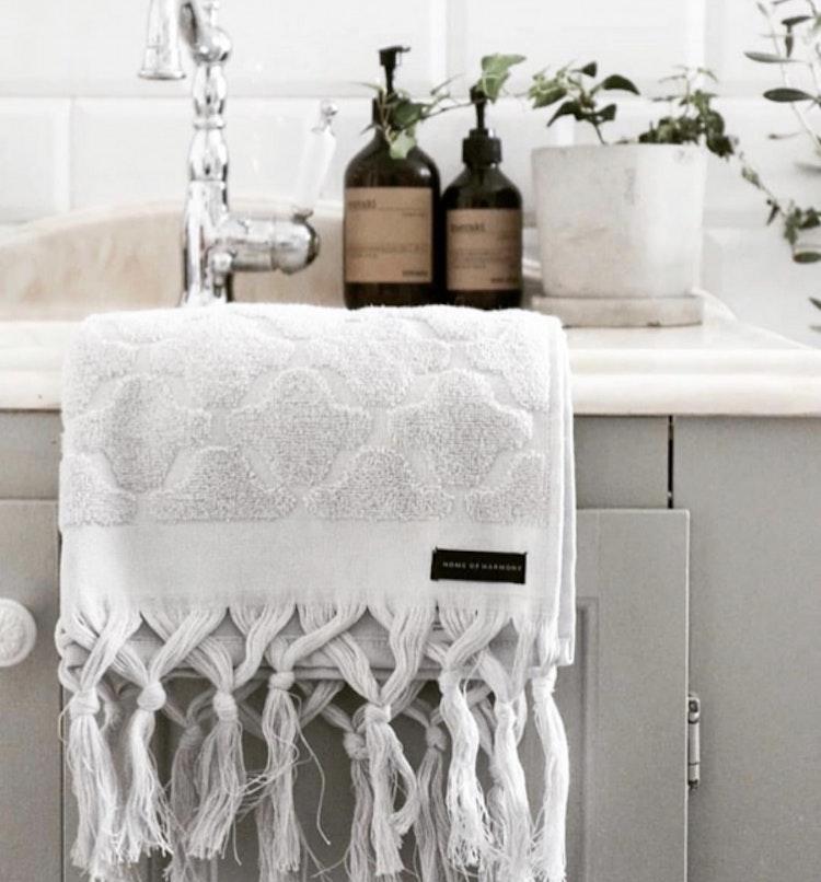 Handduk Off white
