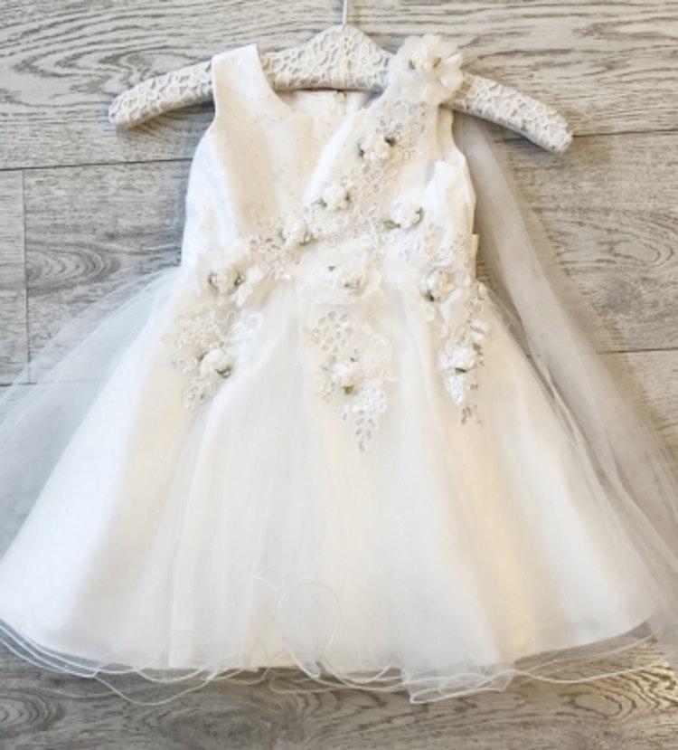 Babyklänning/näbbklänning flowers