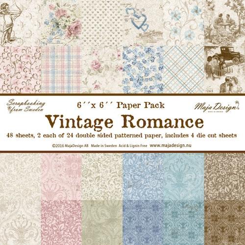 Maja Design Vintage Romance Paper pad