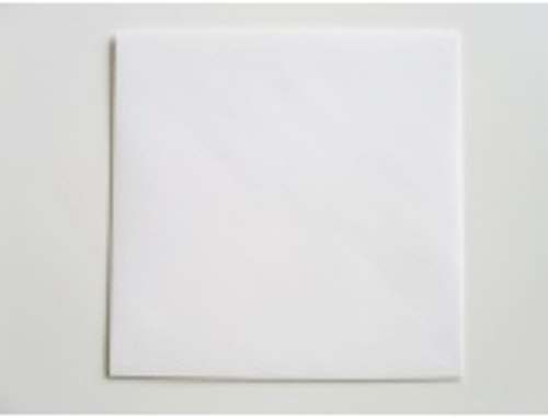 Vitt kvadratiskt kuvert