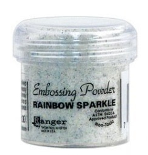 Embossingpulver Rainbow Sparkle