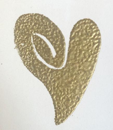 Embossingpulver guld