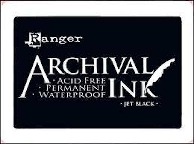 Archival Ink Jet Black
