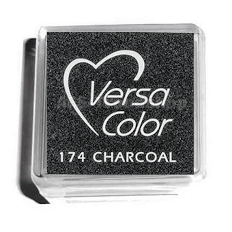 Stämpelfärg Versa Color Charcoal