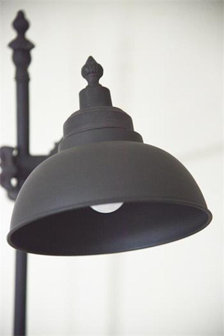 JDL Bordslampa antik svart