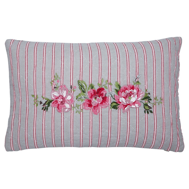 Greengate Cushion Riley grey