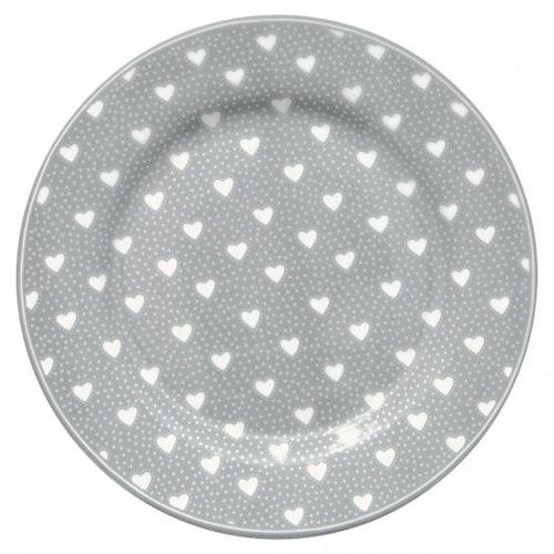 Greengate Plate Penny Grey