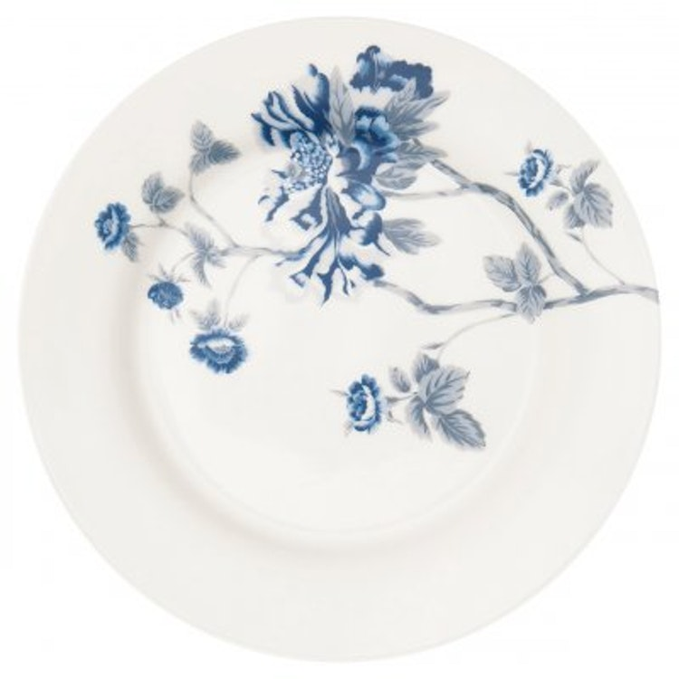 Greengate Plate Charlotte white