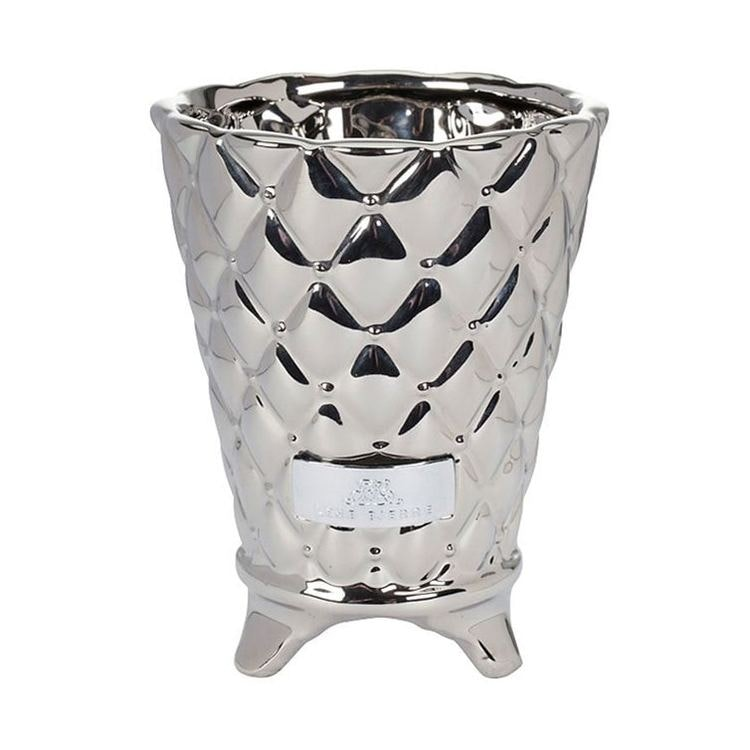 Lene Bjerre Precious flower pot silver