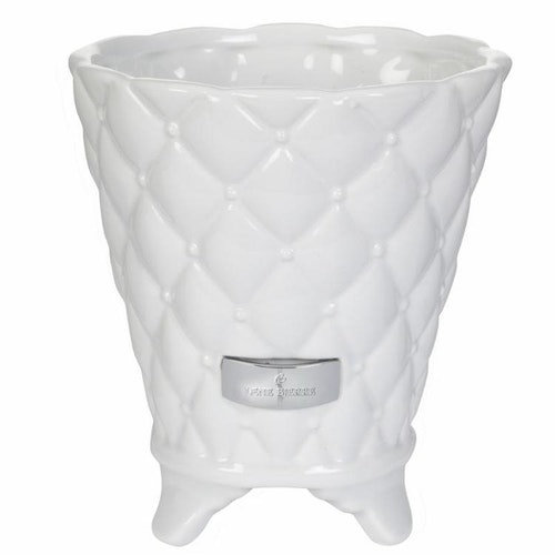 Lene Bjerre Precious flower pot white