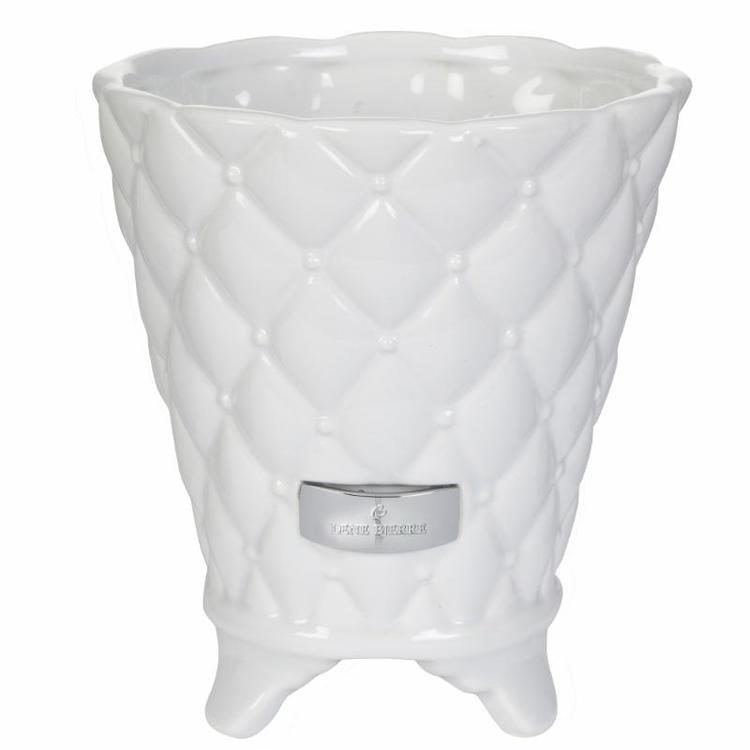 Lene Bjerre Precious flower pot white