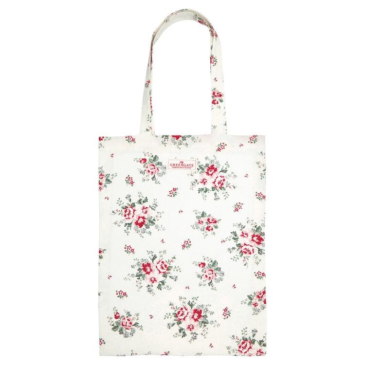 Greengate Shopping bag Elouise White