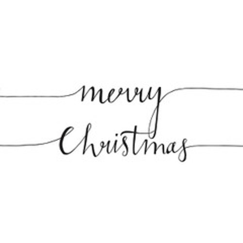 Servetter Merry Christmas