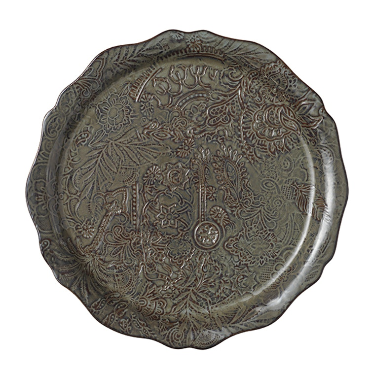Sthål Round Serving Plate Fig
