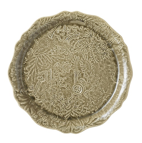 Sthål Round Serving Plate Sand
