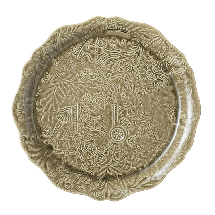 Sthål Round Serving Plate Sand