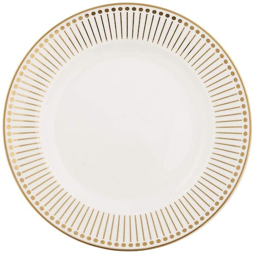 Greengate Dinner Plate Dawn Gold