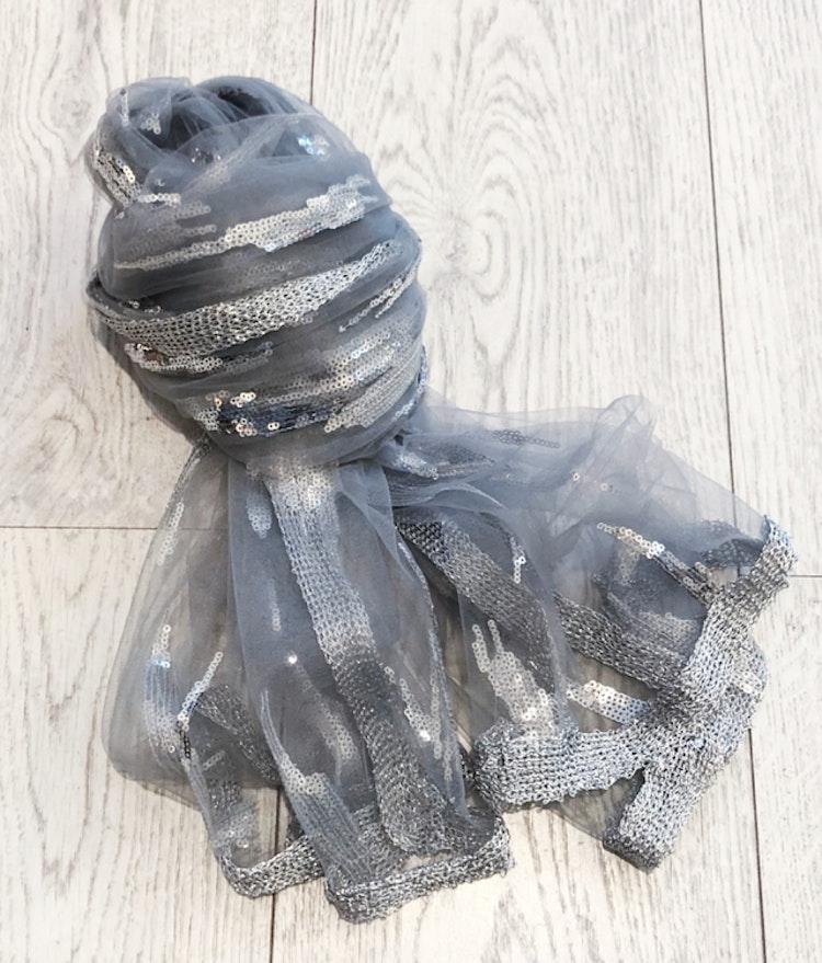 Scarf Luxa grå