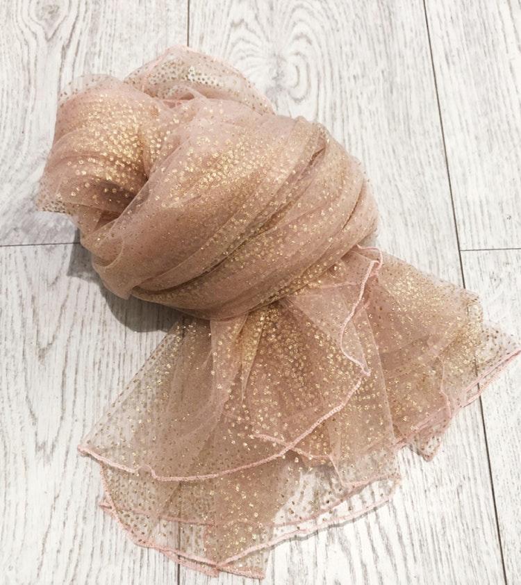 Scarf Diamond rosa