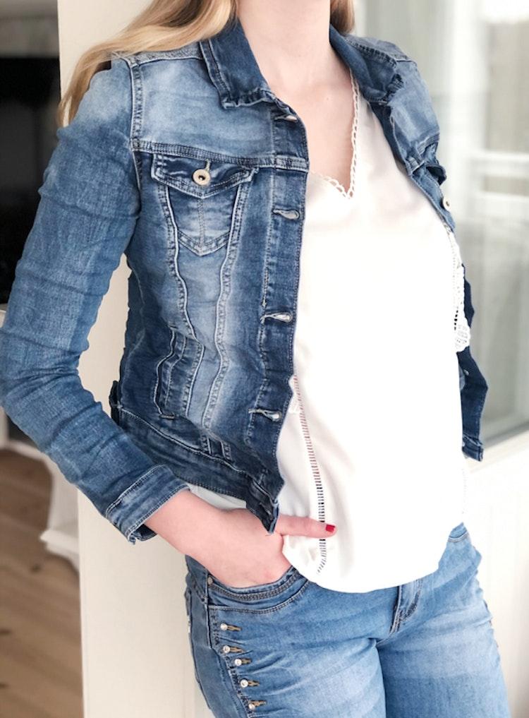 Place du jour jeansjacka