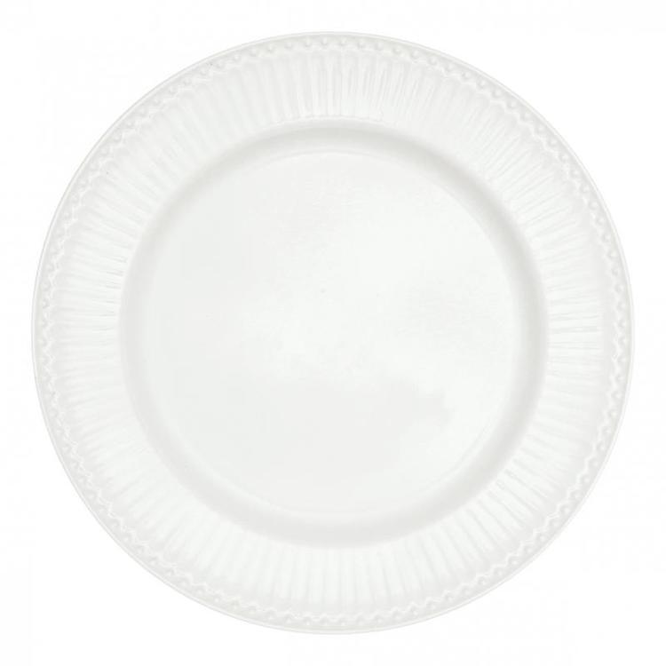 Greengate Dinner plate Alice white