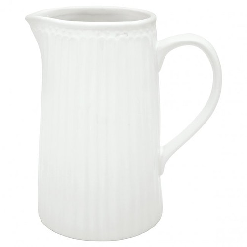 Greengate Jug Alice white