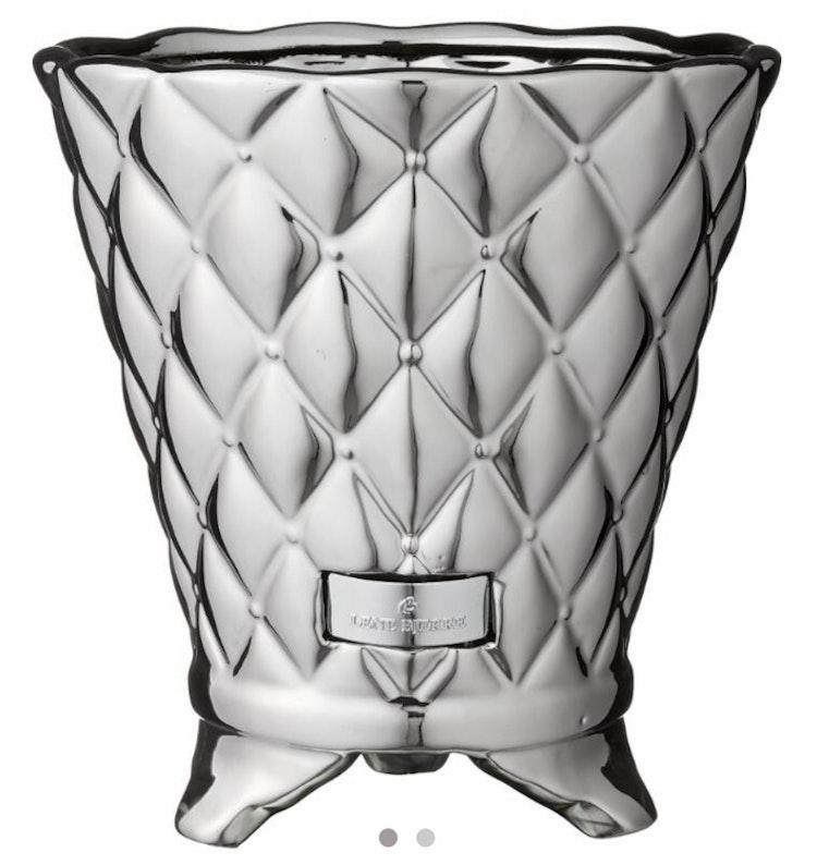 Lene Bjerre Precious Flower pot silver large