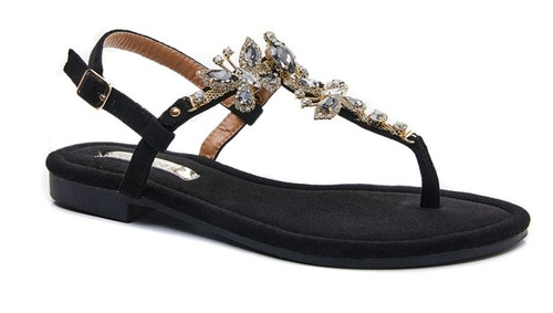 Sandal Butterfly svart
