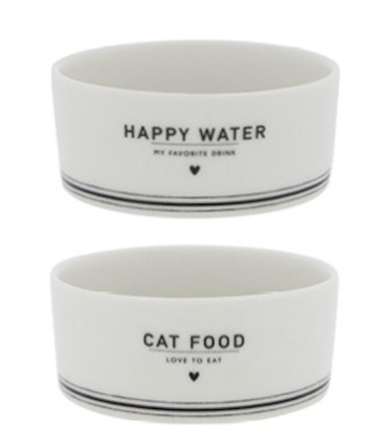 Matskålar katt