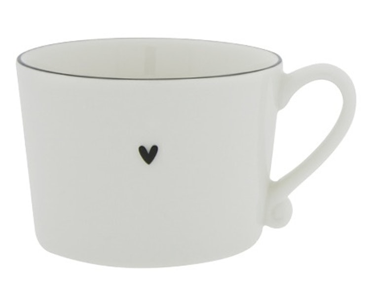 BC Collections Cup Heart black edge