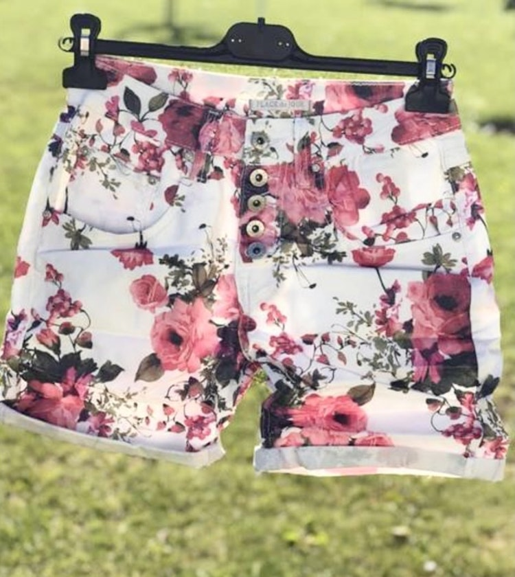 Shorts blommiga