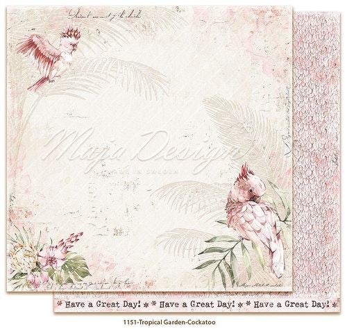 Maja Design Tropical Garden Cockatoo