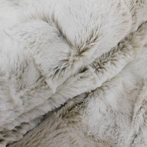 Pläd fuskpäls lynx winter