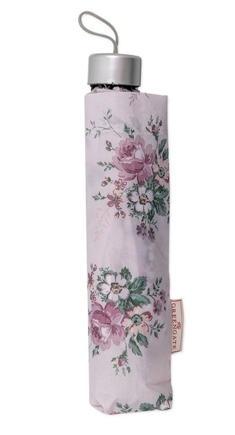 Greengate Umbrella paraply Marie dusty rose