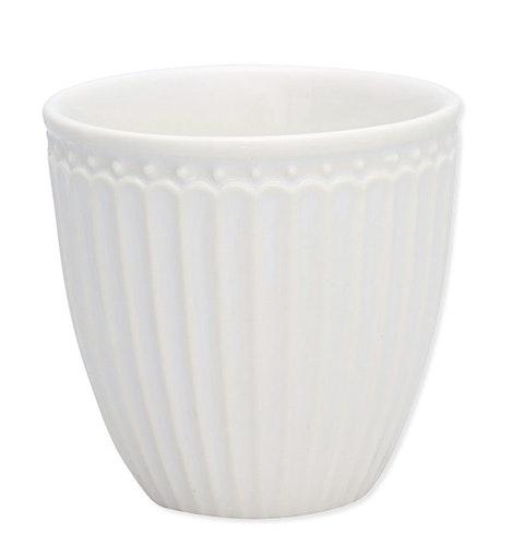 Greengate Mini Latte cup Alice white glöggmugg