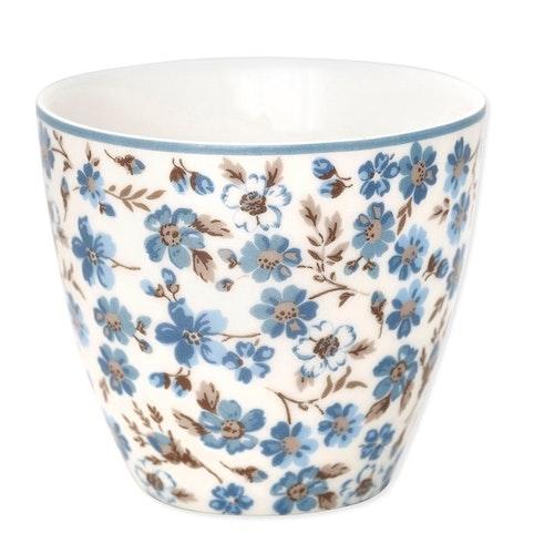 Greengate Latte cup Marie petit dusty blue