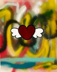 Tavla hjärta