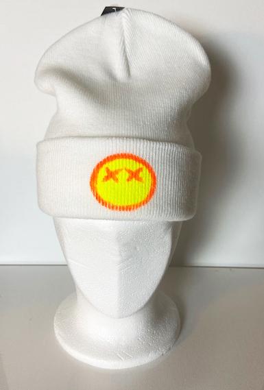 Vit mössa med gul X-man