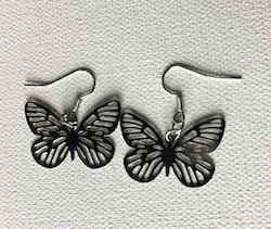 Örhänge fjäril