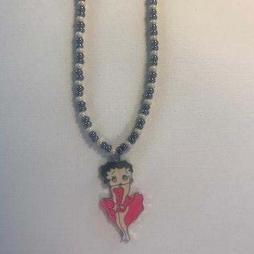 Betty Boop Rosa klänning