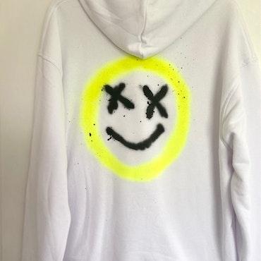 Hoodie Yellow X-man