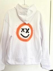 Hoodie orange X-man