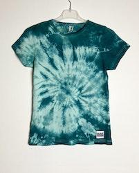 Grå-grön batik T-shirt